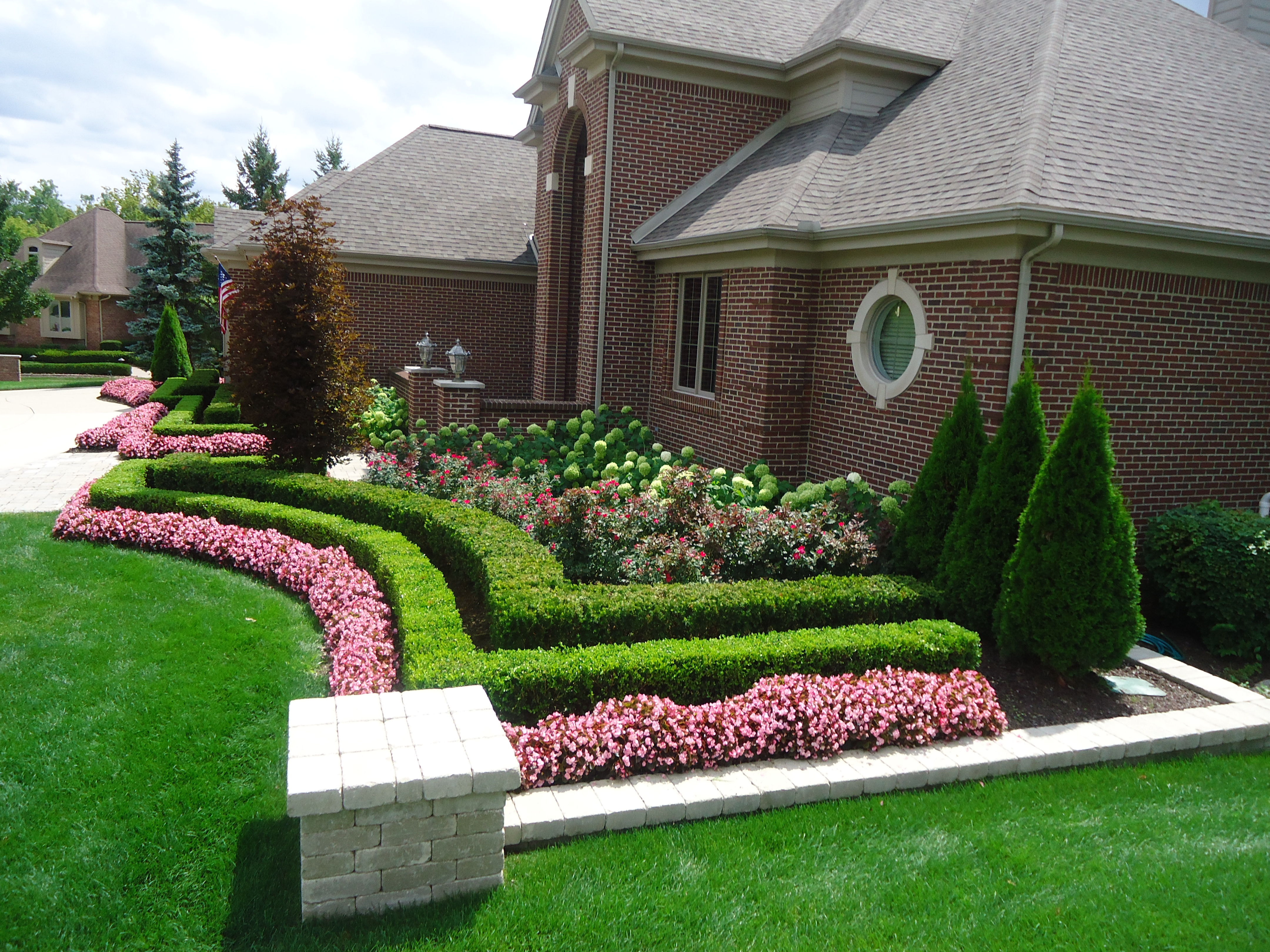 front yard design dsc03640 on landscape yard design