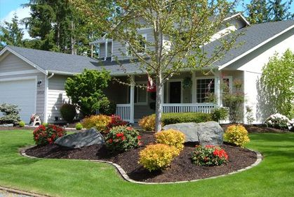 front yard landscaping designs, diy ideas, photo gallery and 3d design JACBJGT