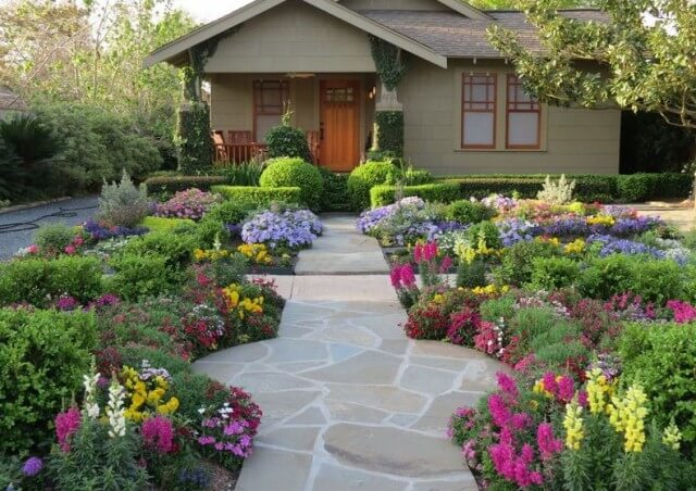 front yard landscaping ideas QFMMNQA