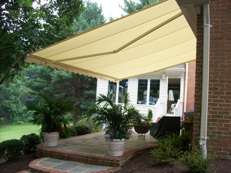 gaithersburg garage door - deck awnings ... VHQYIPJ
