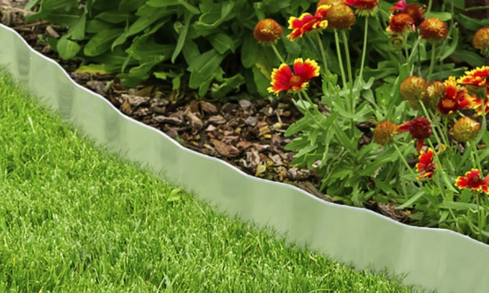 galvanized steel lawn edging landscape, plant, and garden border ... SIANCEK