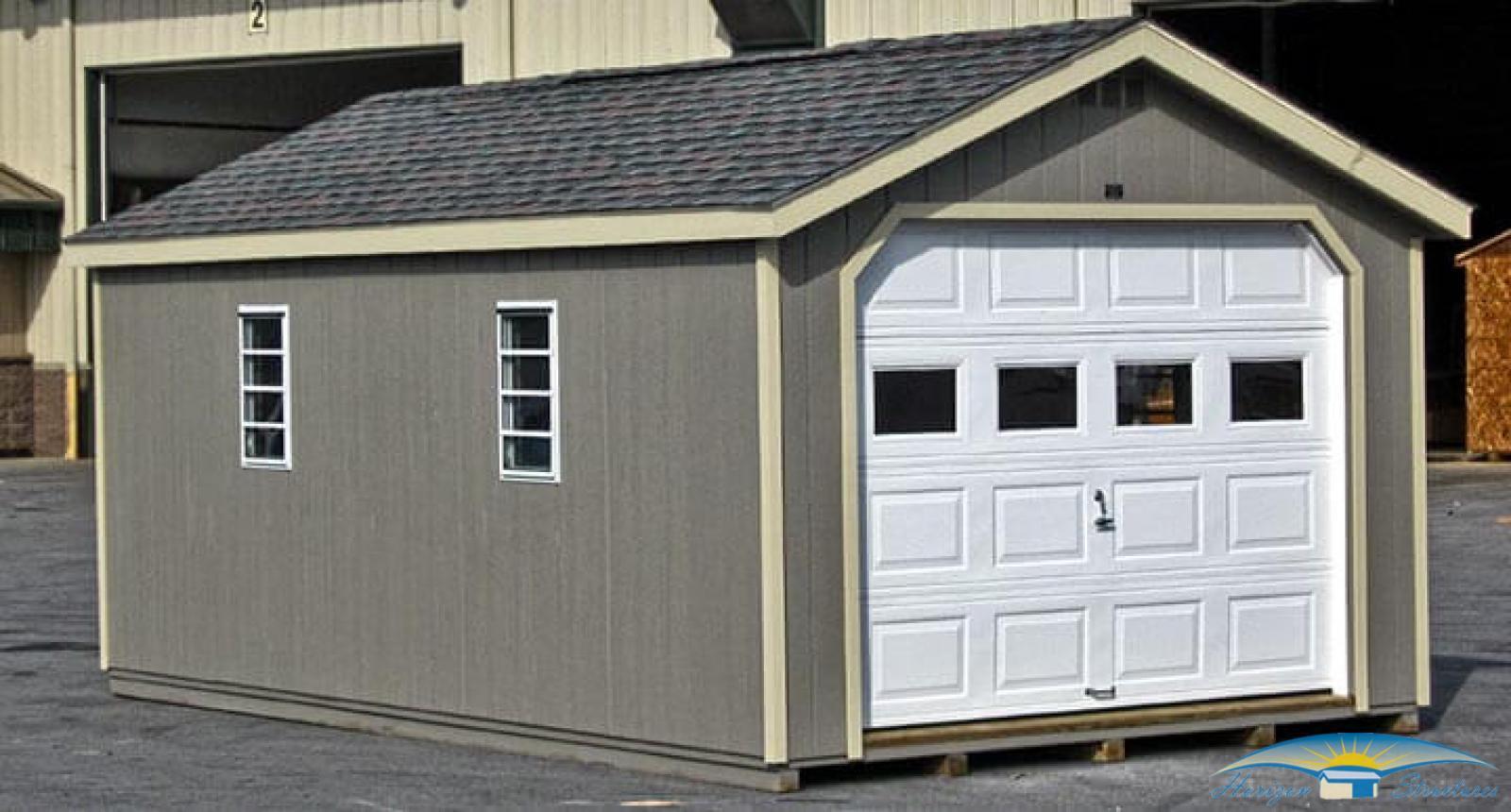garage sheds 1-car prefab garage DADIRER