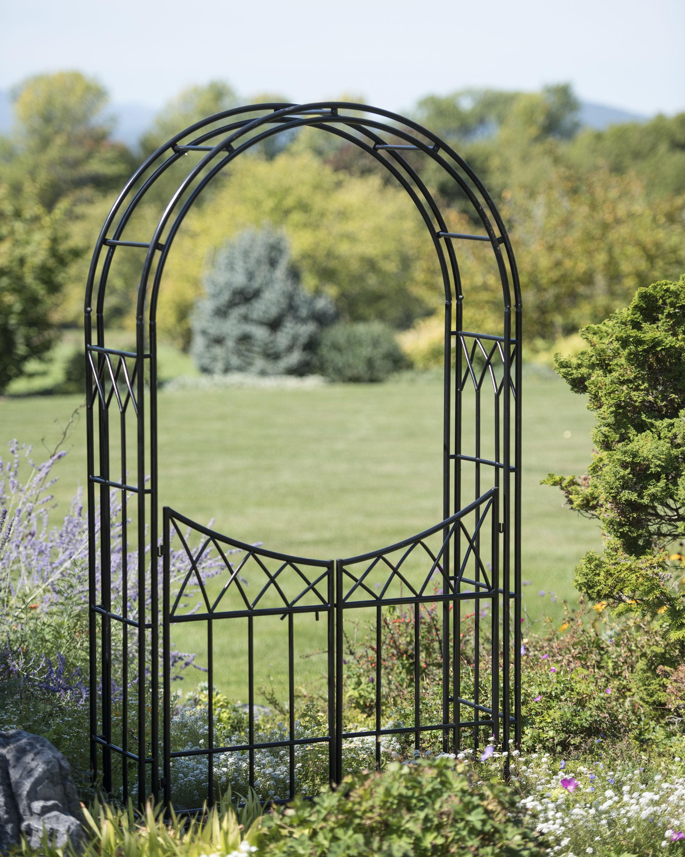 garden arches essex arch with gate QLEMVGS