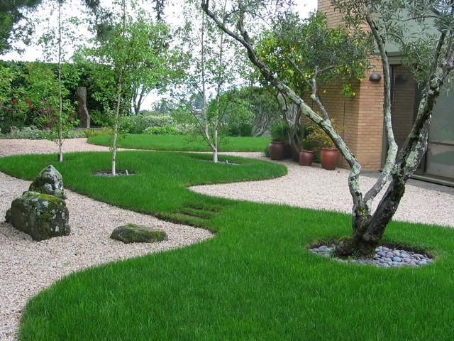 garden architecture/robert trachtenberg modern-landscape HUWAVNL