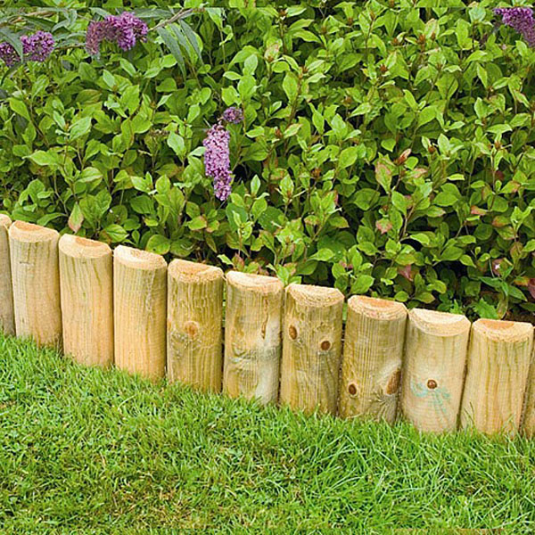 garden border edging forest wooden border log roll | log roll u0026 border edging | TDNYQEF