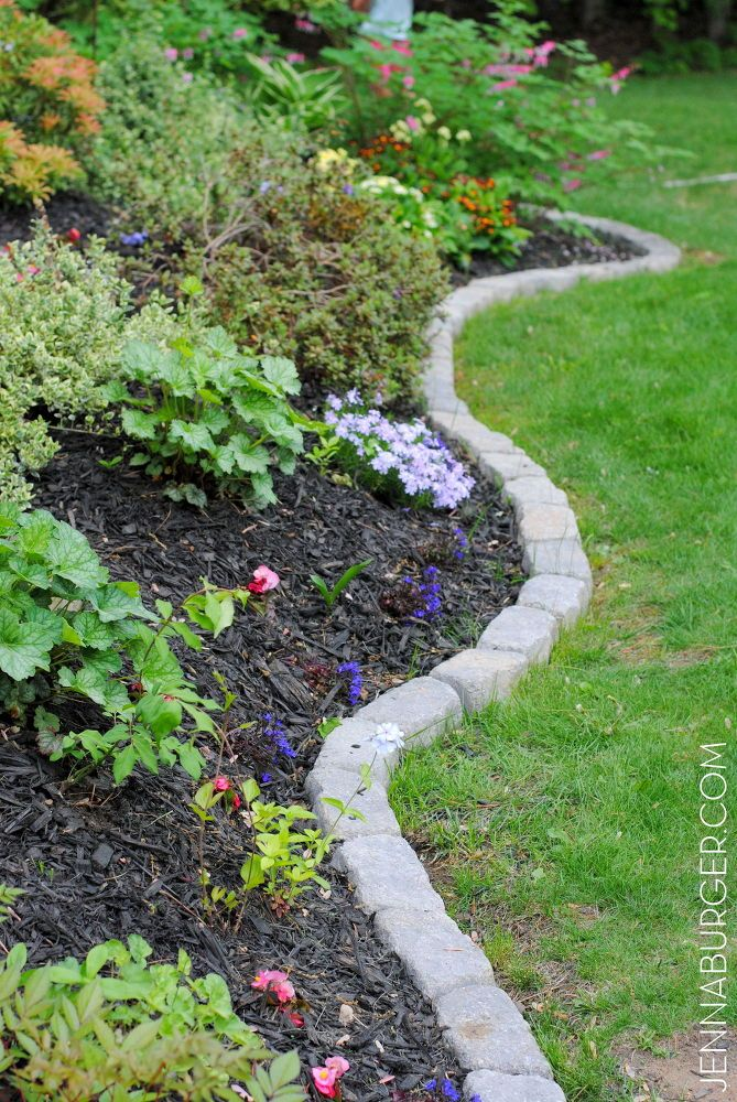 garden border edging the perfect border for your beds: defining a garden s edge with SVQOKIY