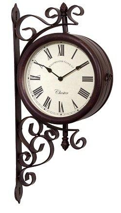 garden clock outdoor garden wall station clock u0026