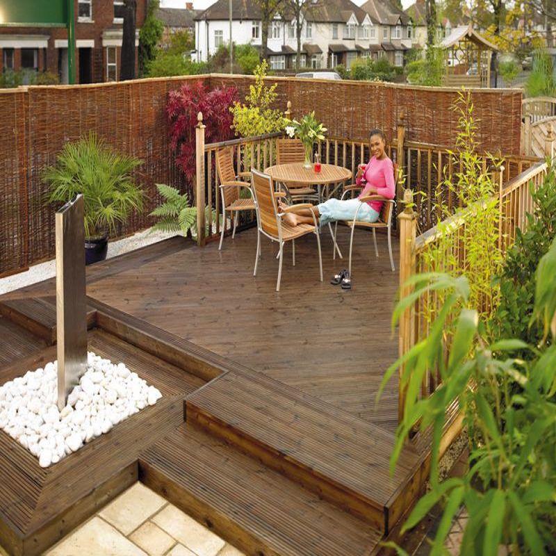 garden decking timber decking FNIMAUJ