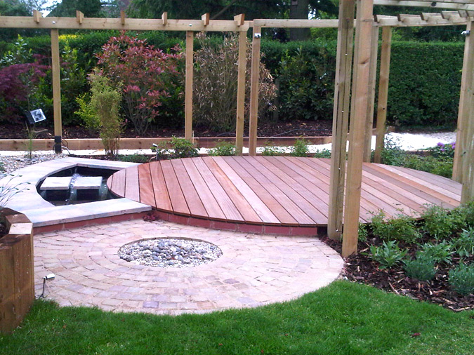 garden decking. XLCOYWD
