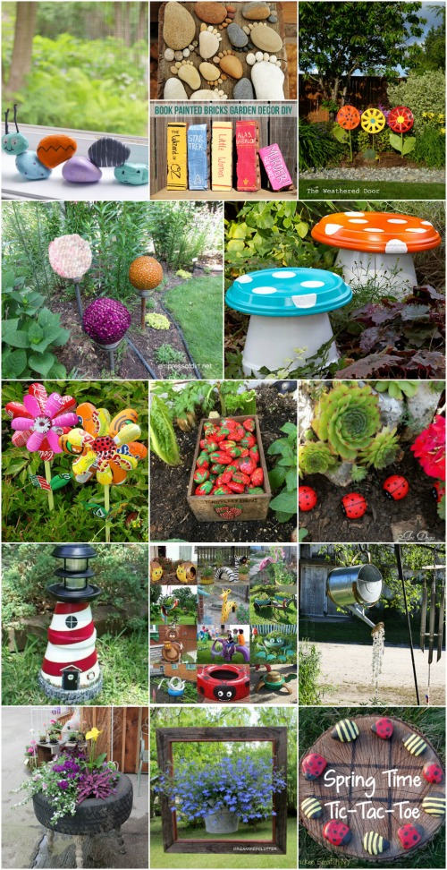garden decoration 30 adorable garden decorations to add whimsical style to your lawn UBQQZHW