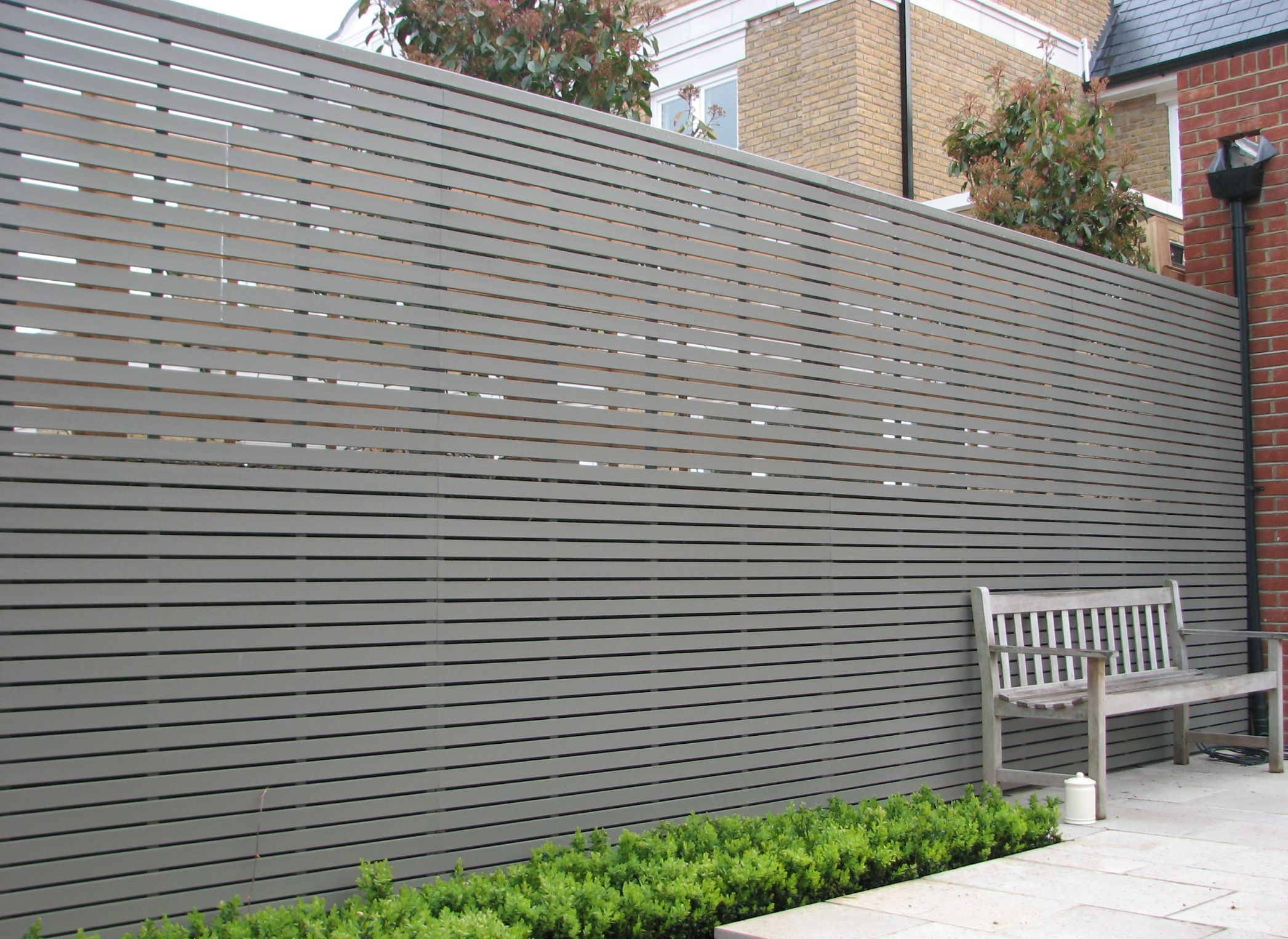 garden fencing panels contemporary garden fence - google search VPZRTZB
