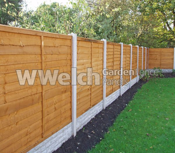 garden fencing panels ... waney fencing panels-428 ALCDEBK