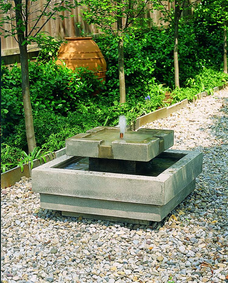 garden fountains escala garden water fountain - soothing walls JUOBWNS