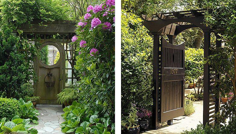 garden gates, pergolas, and trellis fence GUDWKBA