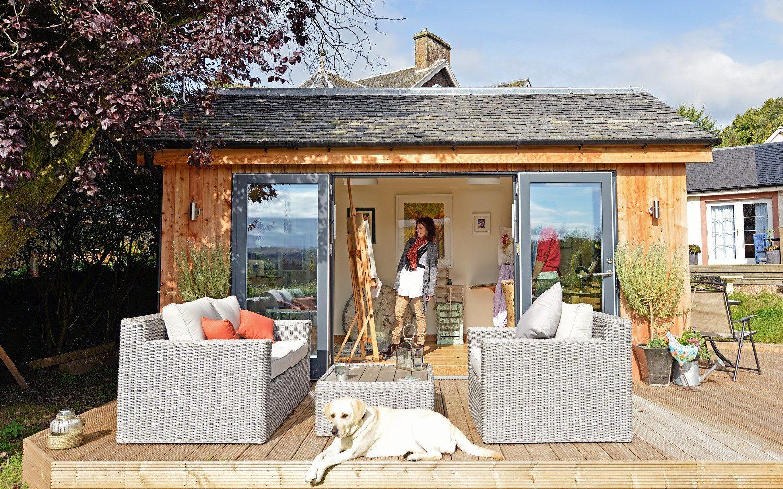 garden huts a  VYNLPAP