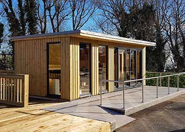 garden huts garden offices SIIEVXS