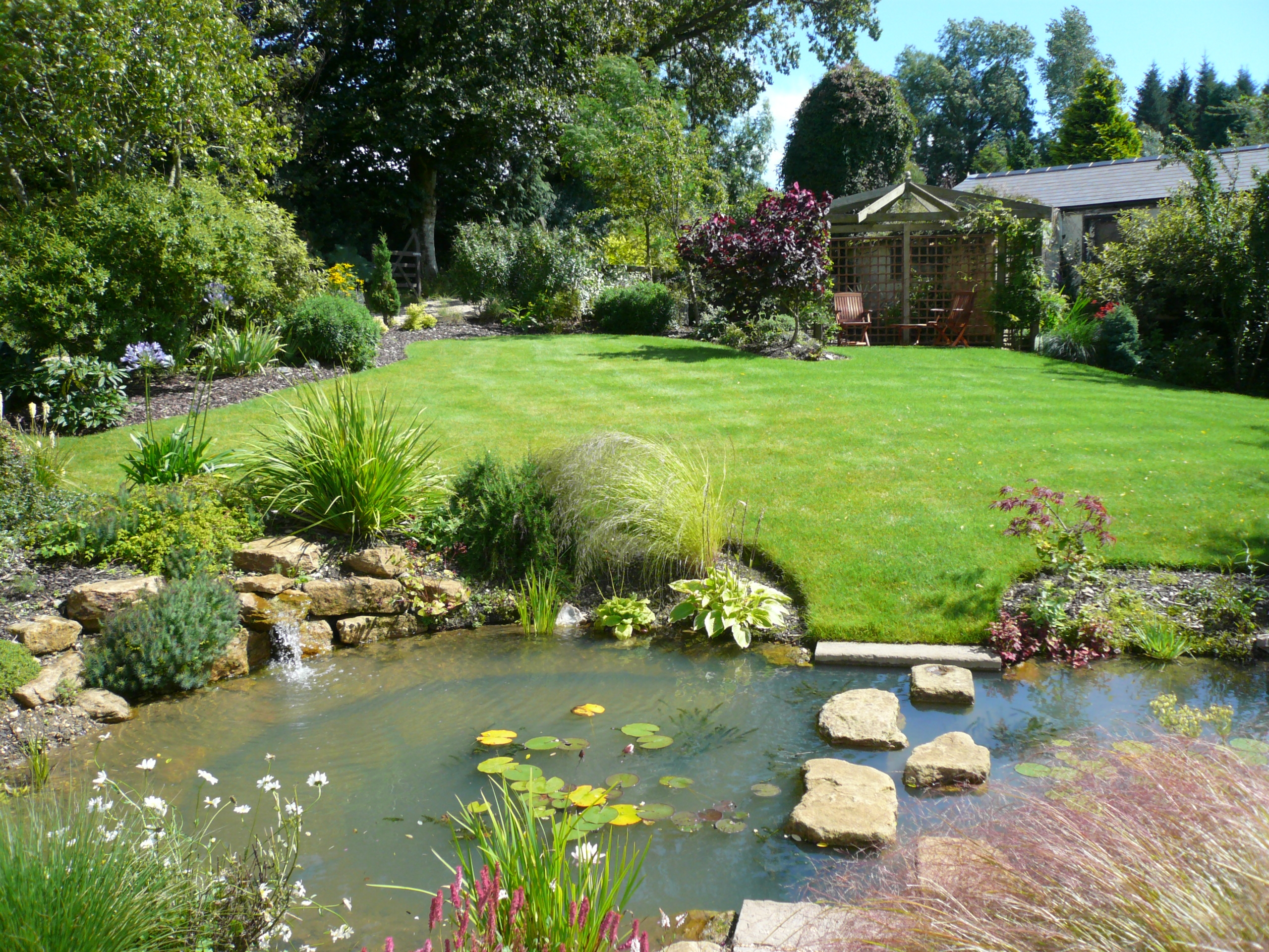garden landscape design appealing garden landscaping to enhance its beauty - carehomedecor ZZQJFTW