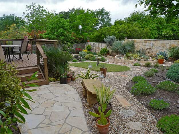 garden landscaping ideas southwest backyard garden landscape | inspiring backyard garden design and landscape JILYYTQ