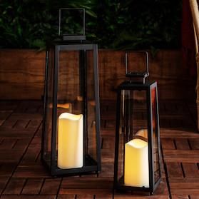 garden lanterns porto solar lantern bundle IQOAWRT