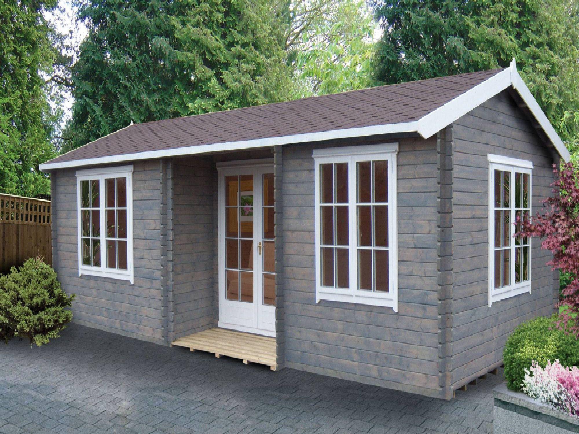 garden log cabins 14g x 26 (4.19m x