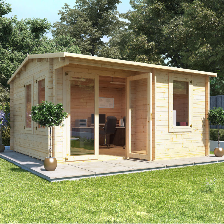 garden log cabins billyoh seattle home office - log cabins - garden buildings direct ZOBYDWJ