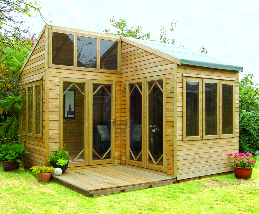 garden log cabins cabins can create extra living