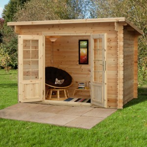 garden log cabins hartwood 3m x 2m aston log cabin MULVJSL