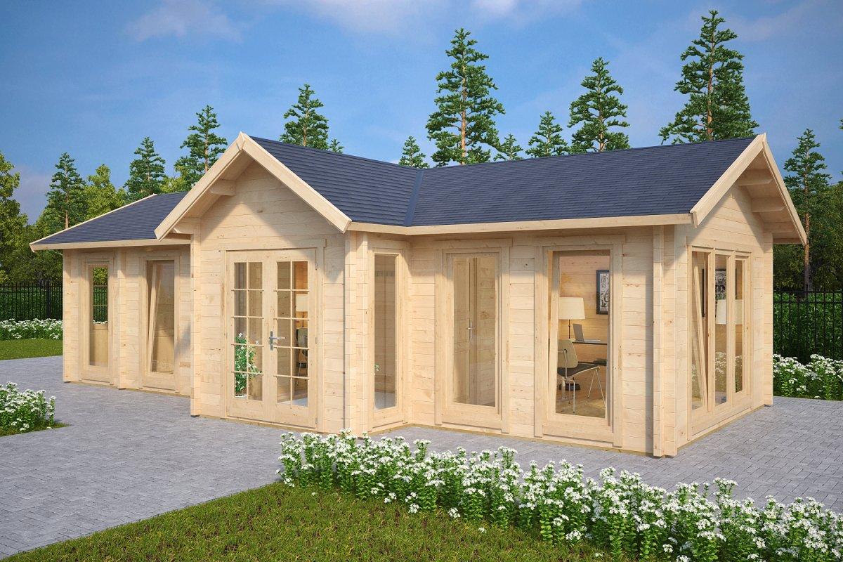 garden log cabins log cabin hansa office FVBACEM
