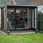 The Enclosed Garden Office Design