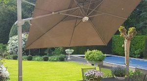 garden parasols fratello (tiltable) 300x300cm JLBYGSM