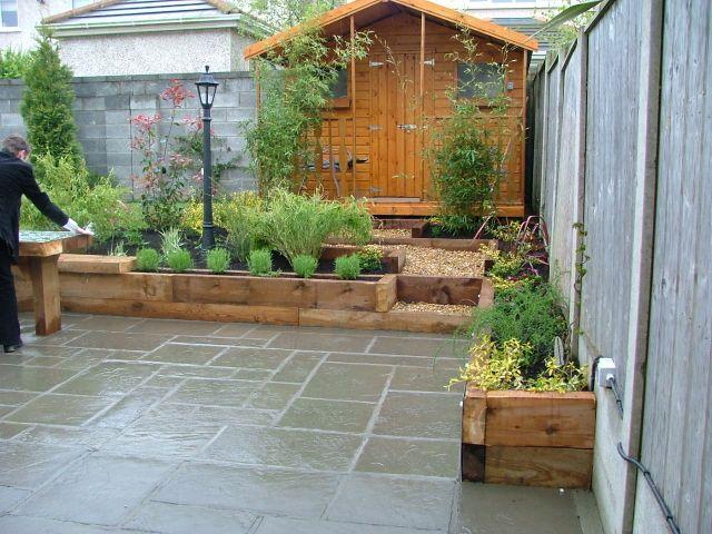 garden patio ideas for designing your garden VNKRDSU