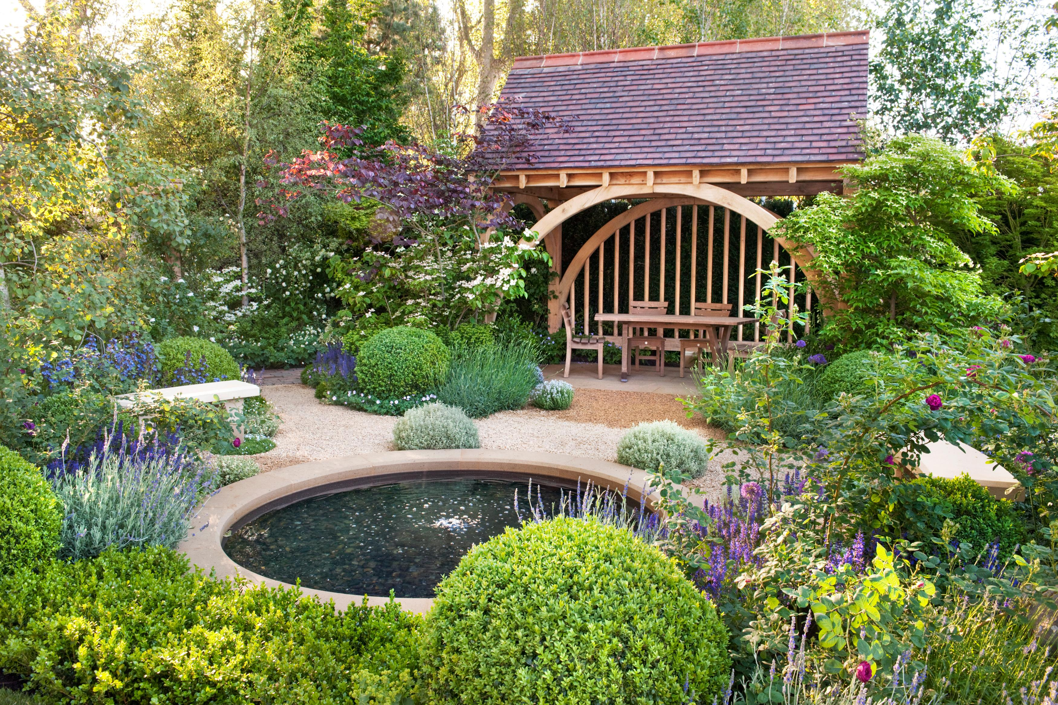 garden pond it is best to keep the