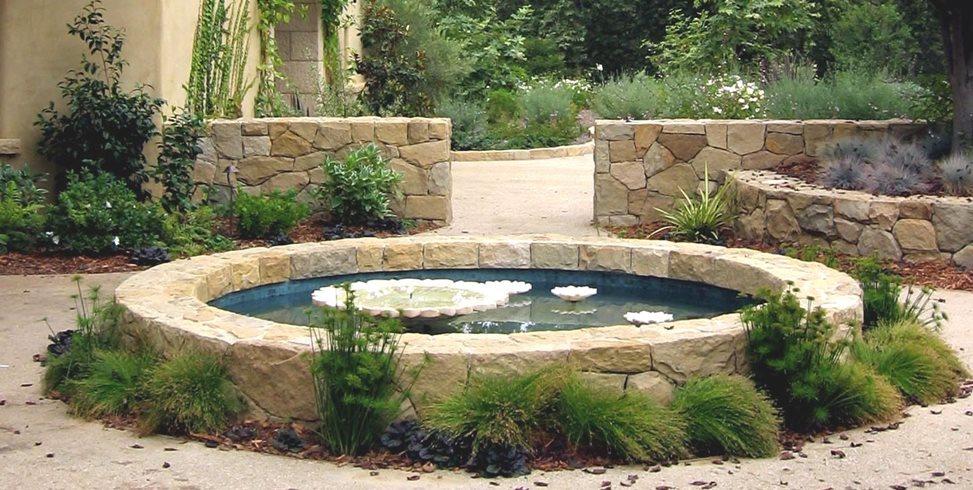garden pond pond swimming pool grace design associates santa barbara, ca WCWTPJE