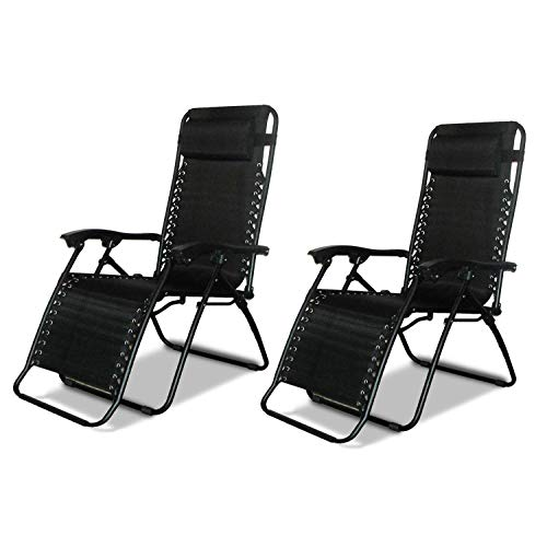 garden recliners 2 x dny© textoline reclining garden chair beach sun lounger recliner chairs MBKOYCF