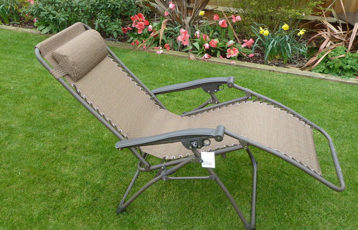 garden recliners ... modern patio and furniture medium
