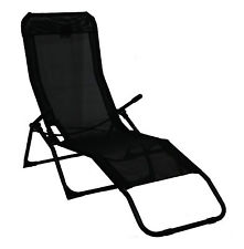 garden recliners rocker lounger black sun chair recliner