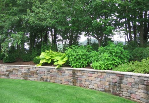 How to build Garden retaining wall