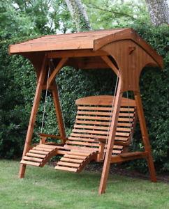 garden seat image is loading afk-comfort-wooden-swing-seat-garden-seat-2- RFTTYRI
