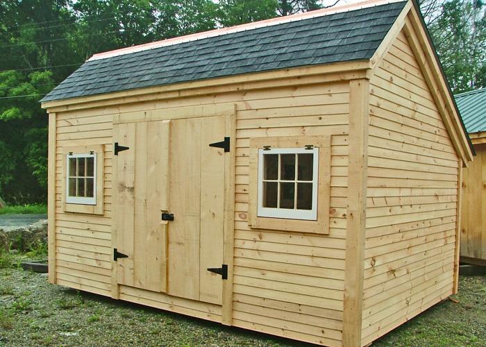 garden shed kits ... 10x14 church st - exterior ... XKYOWCD