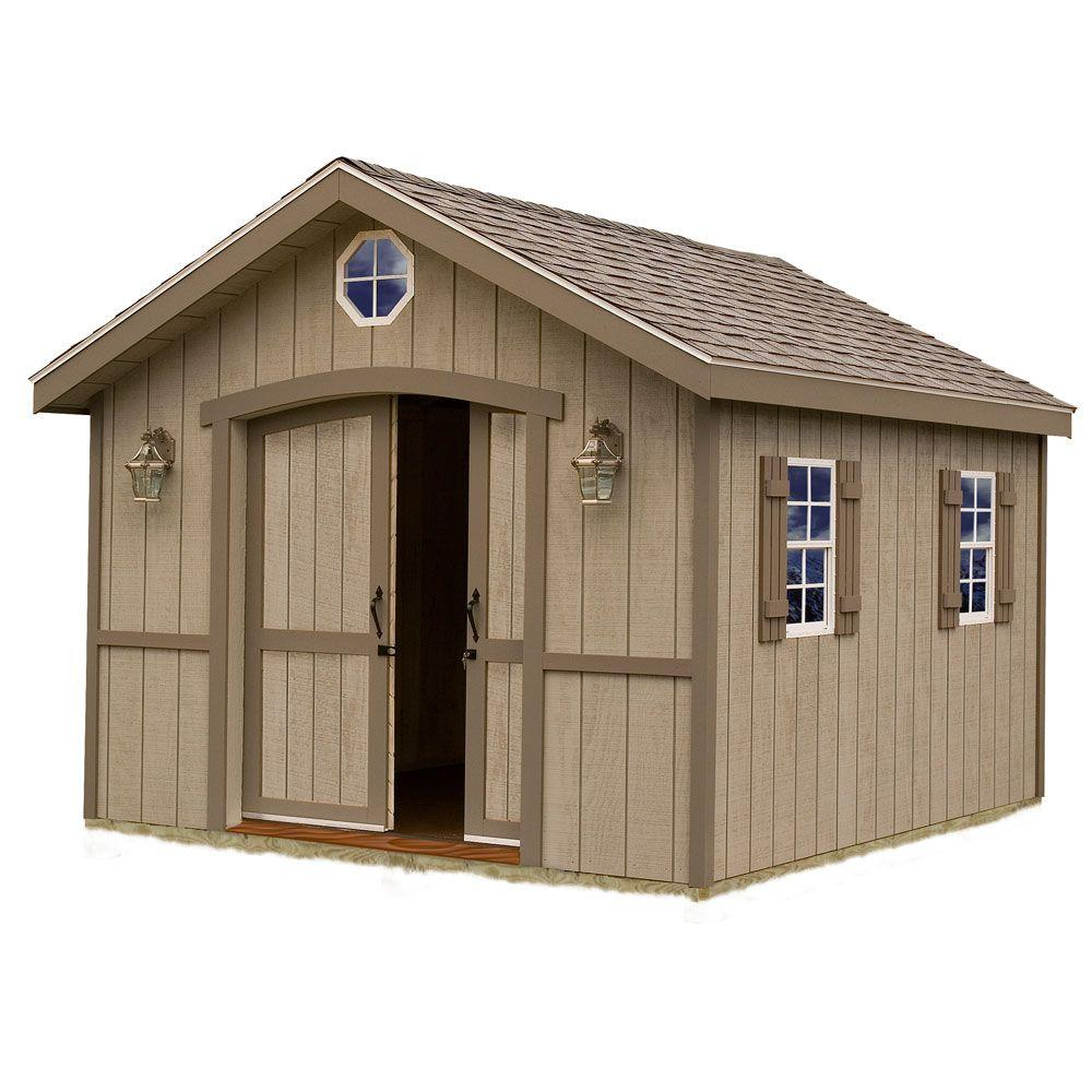 garden shed kits best barns cambridge 10 ft. x 12 ft. wood storage shed kit JFBGQYA