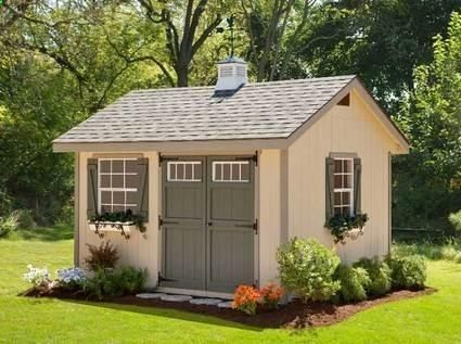 garden shed kits cute garden shed plans | heritage amish shed kit 10 x 16 BTOFQPY