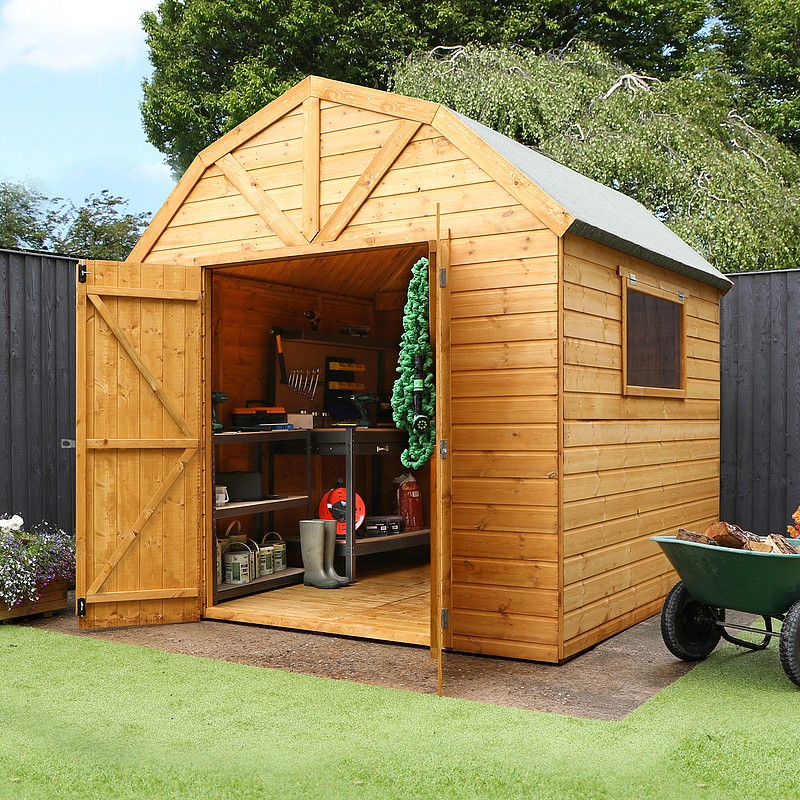 garden sheds click image to enlarge 8 x 8 waltons dutch barn tongue and DGVEIXK