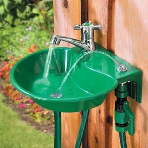 garden sink image is loading mountable-outdoor-garden-sink -drinking-water-fountain-patio- JBDJACH
