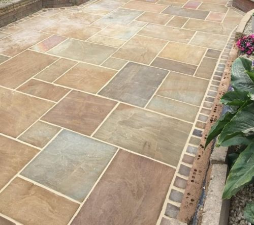 garden slabs indian-sandstone-paving-natural-stone-patio-flags-garden-slabs-19-1m2-pack  more IPENKEI