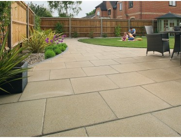 garden slabs marshalls perfecta smooth garden paving NLKUPBT