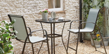 garden table and chairs garden furniture for small