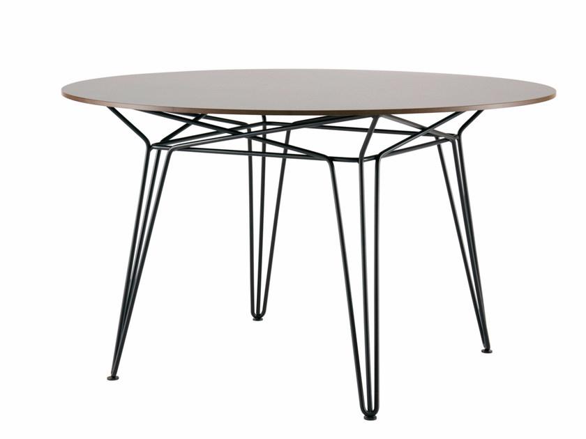 garden tables round hpl garden table parisi | hpl table by sp01 DRYDIVU