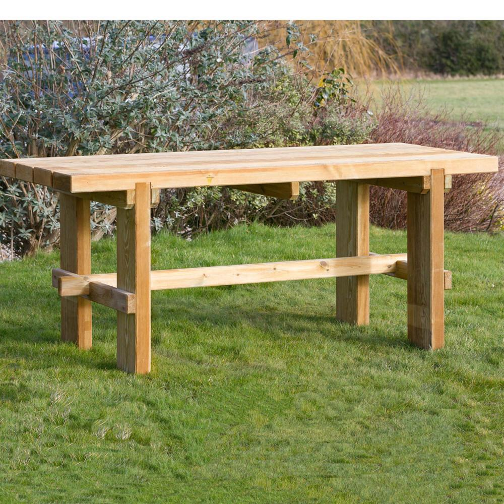 garden tables zest 4 leisure rebecca wooden garden table MUDHPBN