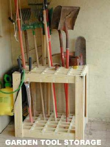 garden tool storage from pvtnetworks MDHSPDN