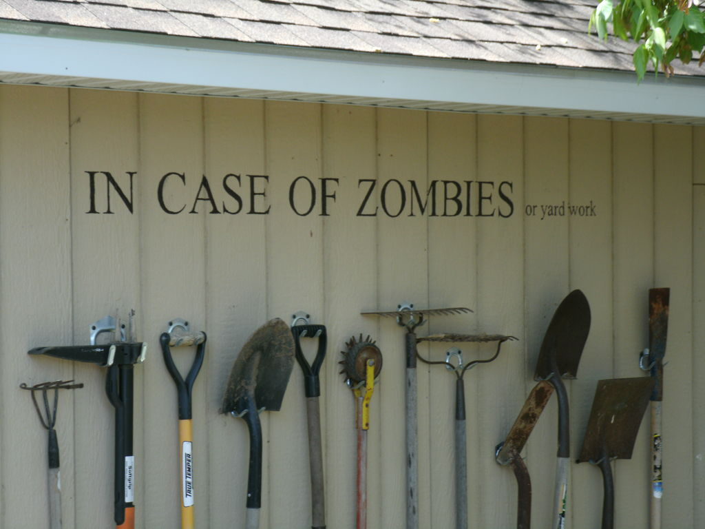 garden tool storage picture of storing garden tools with style (aka zombiewall) MXGKZBZ